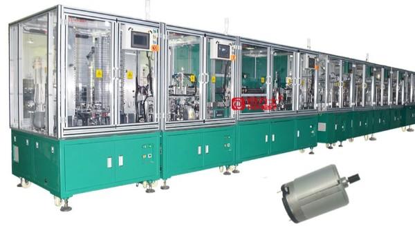 直流电机全自动化生产线客户第二次回购