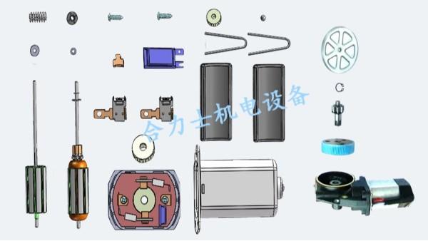 高效、稳定的整套微型电机自动化装配线