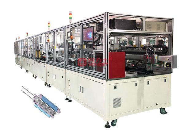 无刷电机分块式定子生产线
