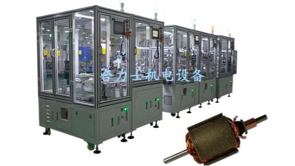 电机转子生产线出货