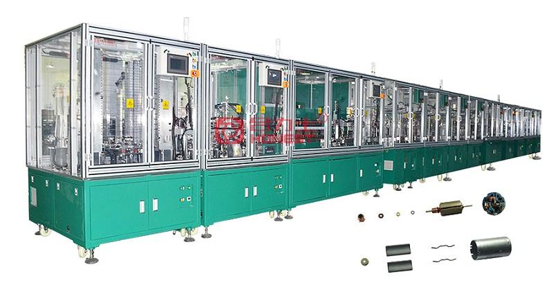 整套汽车尾箱电机自动化设备