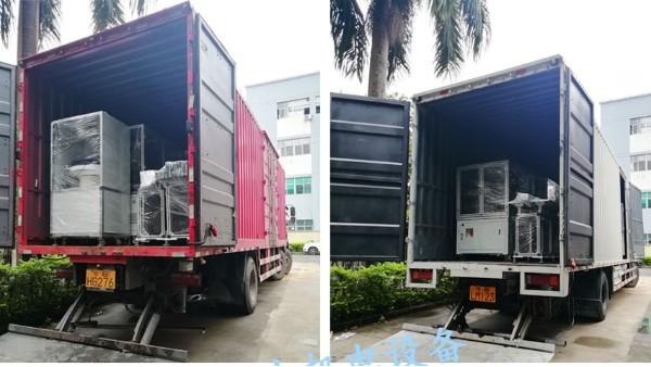 无刷电机生产设备如期交货到客户工厂