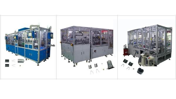 喜讯!合力士8台部分段电机自动化设备出货