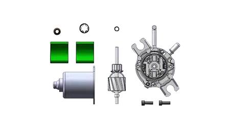 ABS电机自动组装机分体图