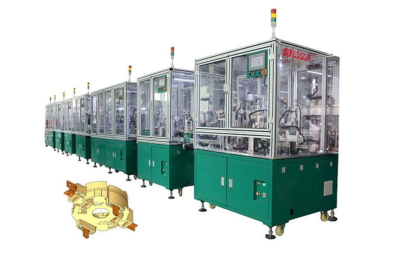 电机胶盖全自动化生产线