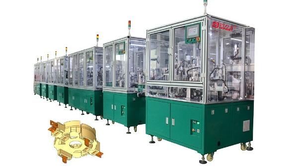 电机胶盖全自动化生产线出货