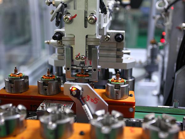 微电机组装生产线