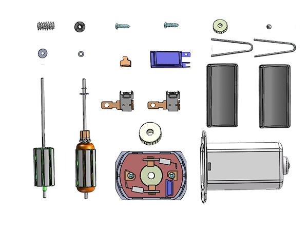 微电机组装生产线2