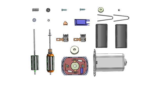 全自动化微型电机生产线的组装工序