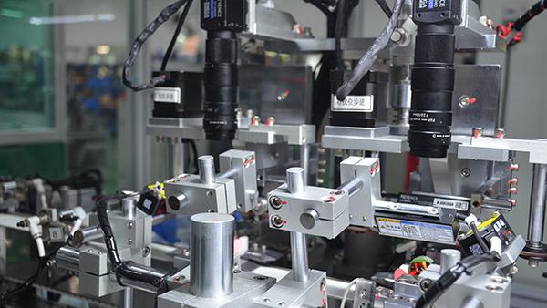 合力士自动化电机生产线