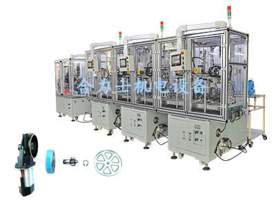 齿轮箱自动组装机
