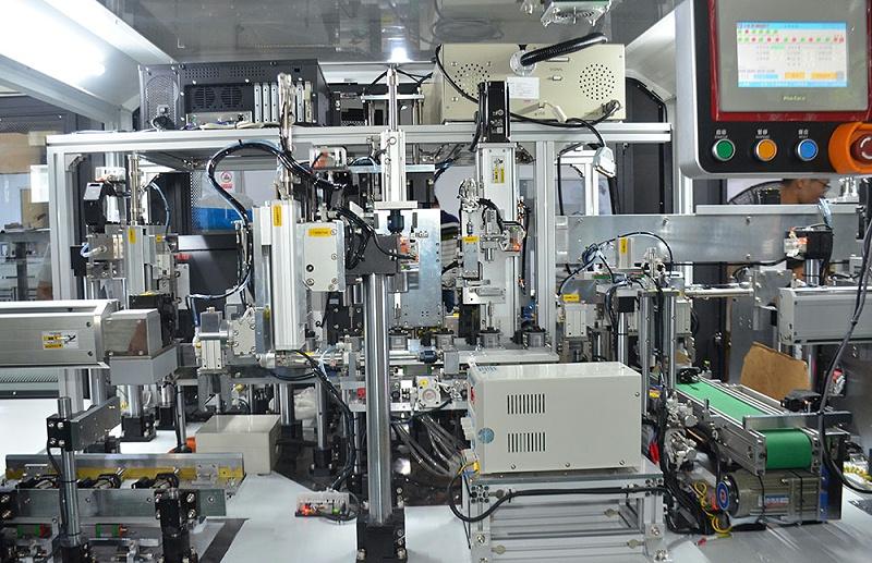 电机全自动化装配线-特写图